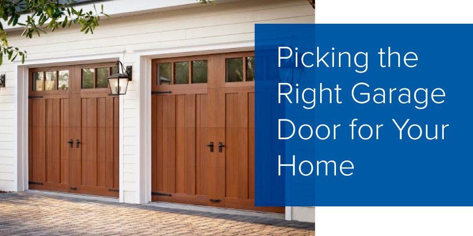 Choosing The Right Garage Door Garage Door Repair Toronto